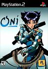 Oni (Sony PlayStation 2, 2001) PS2 Complete Black Label Tested