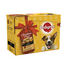 Pedigree Dog Food Pouches Mixed Christmas Dinner Selection 12x100g - BULK DEALS