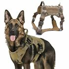 Military Tactical Dog Harness Front Clip Law Enforcement K9 Working Pet Dog