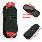 Tactical 360 Degrees Rotatable Flashlight Pouch Holster Torch Case For Hunting