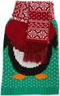 NEW Merry & Bright XS Green Penguin Ugly Christmas Sweater Pet Dog Xmas Outfit