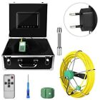 """Waterproof Drain Pipe Sewer Inspection Camera System 9""""LCD 1000 TVL Camera 30M"""