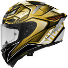 Shoei X-Fourteen X-14 Aerodyne Gold Motorcycle Race Snell Helmet
