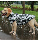 Large Dog Clothes Dog Camo Jacket for Big Dogs Warm Winter Dogs Camouflage Coat