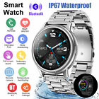 IP67 Bluetooth Smart Watch Blood O₂ Heart Rate Sport Bracelet for iPhone Samsung