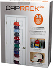 36-Baseball Cap Clothes Organizer Rack System Storage Adjustable Space Saver