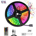 Party Decor LED Strip Lights TV Lighting Colours Changing RGB Tape Cabinet 1-20M