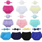 Newborn Baby Boys Girls First Birthday Diaper Cover Bloomers Outfit Photo Props