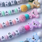 Cute Bear Soother Beaded Pacifier Clip Pacifiers Chain Nipple Feeding