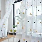 1 Pc Nordic Style Tulle Curtains Children's Bedroom The Livingroom Kids Window T