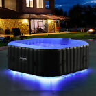 AREBOS In-Outdoor Whirlpool Spa Pool Wellness Heizung Massage Aufblasbar <br/> ✔130 Massagedüsen✔eingebaute Pumpe & Heizung