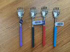 "One (1) HAND WITH RING TELESCOPIC BACK SCRATCHER  EXTENDABLE TO 23""  4 COLORS"