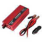 1500W/2000W Car Portable Power Inverter DC 12V to AC 110V W/ Dual Outlets D