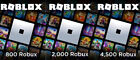 Roblox 800 / 2000 / 4500 Robux - gift card code, email delivery - great prices