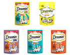 Dreamies Cat Soft Crunchy Treats Tasty Delicious Snacks 60g (All Treat Flavours)