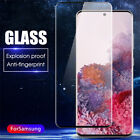 For Samsung Galaxy S20 Plus S20 Ultra Full Cover Tempered Glass Screen Protector