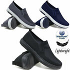 Mens Lightweight Memory Foam Walking Deck Boat Casual Driving Canvas Shoes Size