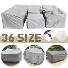 Multiple Size Outdoor Furniture Cover Sofa Chair Table Cover Rain Snow Dust Cove