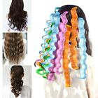 12pcs Magic Hair Curler DIY Wave Curl Rollers Formers Portable Hairdressing Tool