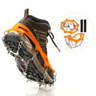 1 Pair Crampons Ice Cleat Traction Cleats Anti Slips Stainless Steel Microspikes