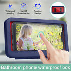 Bathroom Shower Toilet Wall Mounted Tape-box Holder Phone Case Waterproof Cover