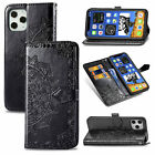Relief Mandala Flip Leather Soft Card Wallet Phone Case Cover For Samsung Galaxy
