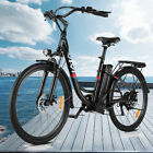 26'' Electric Bike Mountain Bicycle City Folding Ebike 21Speed350W Battery.}|