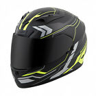 Scorpion Matte Neon Yellow/Black EXO-R710 Transect Full Face Motorcycle Helmet