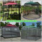 Net table Umbrella Cover Parasol Mosquito Net Resistant Netting Outdoor Camping