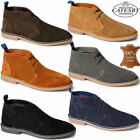 Mens Desert Boots Casual Retro Walking Chukka Fashion Ankle Leather Boots Shoes