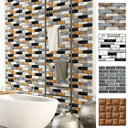 3d Wall Sticker Decal 1pc Background Brick Self Adhesive Home Kitchen Decoration
