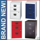 BISLEY 3 Drawer Homefiler LOCKS A4 Filing Cabinet PFA3