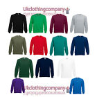 Adult Fruit of the Loom Raglan Sweatshirt Jumper - Men's Tops - 13 colours