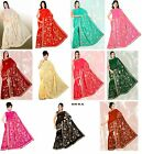 Внешний вид - Designer Bridal Heavy Embroidery Sequin Saree Sari drape decoration fabric NEW