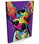 Chihuahua, Chiwawa Pop Art, Box CANVAS A3 to A1 -v109