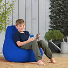 Childrens Tall Gamer Bedroom Bean Bags Beanbag Kids High Back Gaming Bag