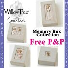 WILLOW TREE MEMORY BOXES KEEP SAKE ORNAMENTS - FREE P&P