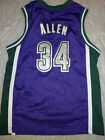 RAY ALLEN 34 RETRO MILWAUKEE BUCKS NIKE YOUTH NBA SWINGMAN JERSEY FREE SHIPPING