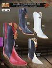 Los Altos XXX-Toe Smooth Ostrich Ladies Western Cowboy Boots Diff. Colors/Sizes