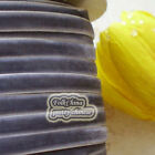 DarkGrey Velvet Ribbons Trim Sewing Craft 6mm,10mm,12mm,15mm,18mm,24mm,38mm #189