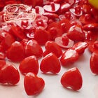 Red Heart 13mm Plastic Buttons Sewing Scrapbooking Collectable Craft CHB