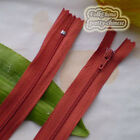 23cm Nylon Closed End Zips/Zippers Sewing Z2