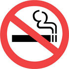 NO SMOKING  x 6 suitable for indoors & outdoors - various pack quantites