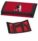 Boston Terrier Wallet Embroidered by Dogmania