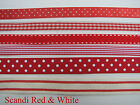 Ribbon Collections for Spring Summer - 5 metres - Giftwrap, Tags, Sewing, Cards.