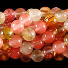 6mm 8mm 10mm Watermelon Tourmaline Gems Round loose Bead 15''