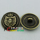 Skull Head 22mm Alloy Metal Buttons Sewing Collectable Craft MB021