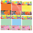 A5/A4/A3 Assorted Colours Neon & Pastel Card & Paper