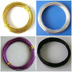 Aluminium Wire 1mm x 23M 1.5mm x 10M 2mm x 6M Choose Colour