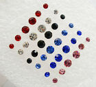 U Pick 3Pairs Of Stud Earring Different Sizes 2mm 3mm 4mm